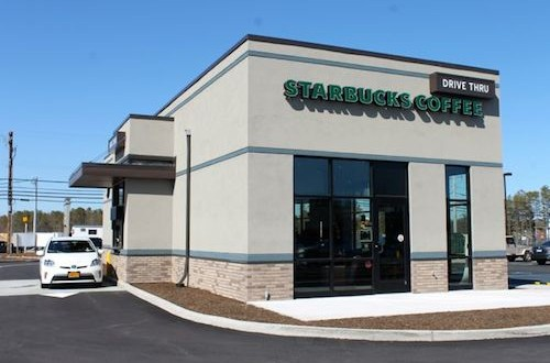 The new Starbucks on Route 58 in Riverhead