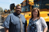 Leslie Moore, left, and Collette Furcht have been appointed co-directors of the transportation department. Photo: Denise Civiletti